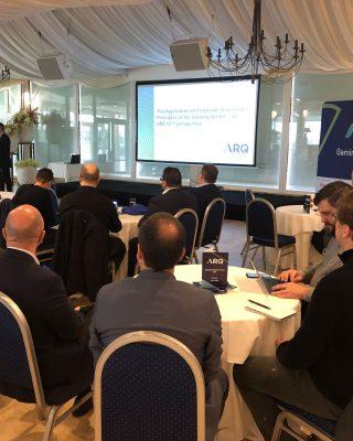 ARQ hosts their first Gaming Compliance Forum for 2019 at Villa Arrigo