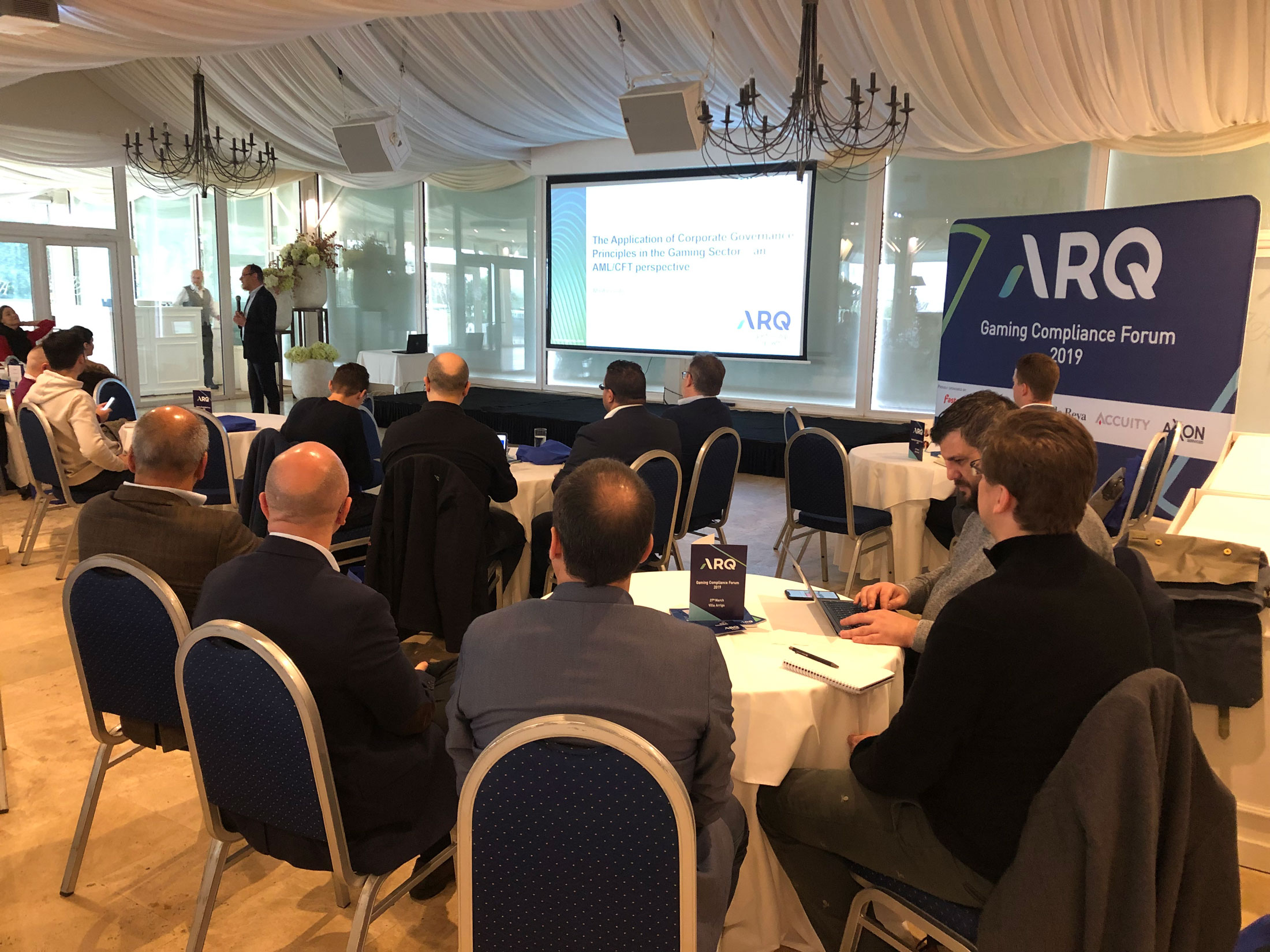 ARQ hosts their first Gaming Compliance Forum for 2019 at Villa