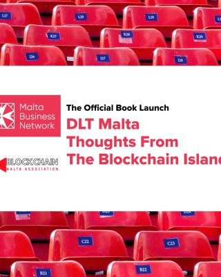 """DLT Malta – Thoughts From The Blockchain Island"" book launch, featuring ARQ's JP Fabri"