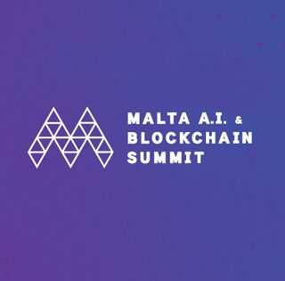 ARQ's Manfred Galdes speaks at the Malta AI & BC Summit