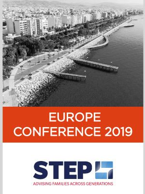 ARQ Partner, Tonio Fenech, attending STEP Europe Conference 2019 in Limassol, Cyprus